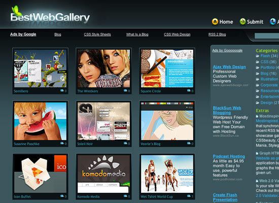 best web gallery is a showcase gallery which feature the best web ...: www.shaynadesign.com/portfolio/web/webgallery.html