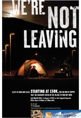 leave tent