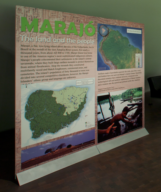 Marajo exhibit